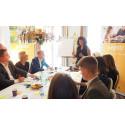 Rundabordssamtal gav 30 löften för fler unga i jobb