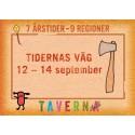 Härliga Hälsingland och Gästrikland på besök på Taverna Brillo i september