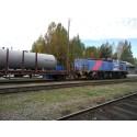 Biobränsle på oelektrifierad järnväg