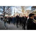 1400 konfirmander på fest i Västerås