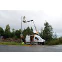 Övik Energi byter ut gatubelysning mot energieffektiva lampor