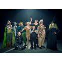 Nypremiär av Glada Hudik-teaterns Trollkarlen från Oz på hemmaplan