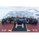 Årets forskningssäsong i Arktis
