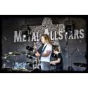 Sommartorsdagar i Borås nådde nya höjder med Metal Allstars hårdrockskonsert på Stora Torget