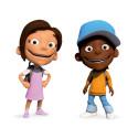 Malin och Martin i Equalize Junior och appen (jpg, rgb)