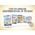 Fira Fetaostens Dag! Vinn en grekisk årsförbrukning av Feta