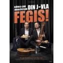 """Succéduon Björn A Ling och Johan Östlings föreställning """"Din J-vla fegis"""" på Kajskjul 8 i Göteborg!"""