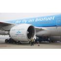 KLM er blandt de mest bæredygtige flyselskaber i Danmark