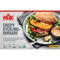 Max Crispy kycklingburgare