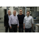 The four principal investigators behind the quantum computer project