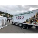 En av ASKO sine etanoldieselbiler på lanseringen av RED95 på Shell Grorud, 7. september