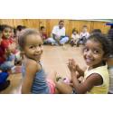 Im Kindergarten wachsen und gedeihen