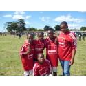 Veidekke bygger fotbollscenter för tjejer i Sydafrika