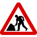 Roadworks on Old Airport Way