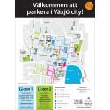 Parkeringskarta Växjö City