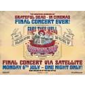 Avskjedskonserten til Grateful Dead live via satelitt i Oslo og Trondheim