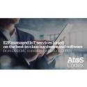 Atos och Dell EMC slår ihop sina styrkor för att hantera den växande marknaden för Internet of Things