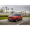 Premiär för Opel Crossland X  i Sverige