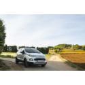 Fordin SUV-mallisto laajenee – kompakti Ford EcoSport on nyt tilattavissa myös Suomessa