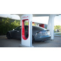 Tesla Supercharger.