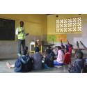 Aufklärungsarbeit unter Schulkindern war ein wichtiger Teil der Tollwut-Kampagne in Malawi.