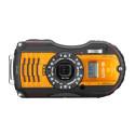 Ricoh WG-5 GPS, orange framifrån