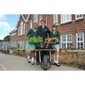 Birmingham Schools prep their veg for BBC Gardeners World Live Show