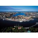 Top 10 mest belånade bostadsrättsföreningar i Stockholm per stadsdel