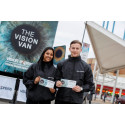 Vision Express gives free Eye Tests to the people of Dublin for Healthy Eyes Awareness Week