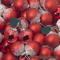 Julgranskulor online! Fina julkulor i rosa, blå, röda, vita, guld och silver samt toppstjärna.