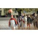 Fler barn på väg till skolan - extra viktigt att hålla hastigheten.