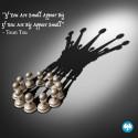 """If you are small appear big, If you are big appear small"" - Tsun Tsu"