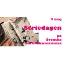 Manga och översättningar i fokus när Svenska barnboksinstitutet arrangerar Seriedagen den 3 maj