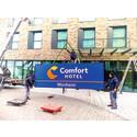 Nuovo logo per Comfort:  il lancio in Europa centrale prende il via dal Reno