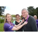 Survivors take a Step Out for Stroke in Liverpool alongside DJ Kev Seed