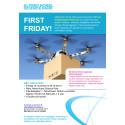 Om drönare i vardagen - First Friday 10 november!