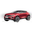 Designskisser − nya Volkswagen T-Roc