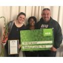 Utdelning av Almi IFS utmärkelse Årets Nybyggare 2017 – kategori Nystart