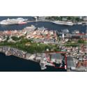 Skanska bygger boliger på bryggekanten i Bergen