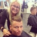 Nikita Hair klipper VM-Sveisen 2014 for Regnskogen!