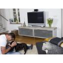 Trendy TV-benk – Inspirert