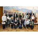 Årets musikstipendier från Stiftelsen Fru Mary von Sydow utdelade