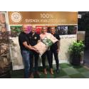 Ny miljövänlig förpackning lanseras på Elmia Garden – av naturen för naturen