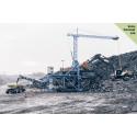 Koldioxidutsläppen har minskat med 98 % på Volvo Construction Equipments och Skanskas Electric Site