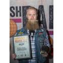 Kristofer Larsson, Best Full Styled Beard 2018