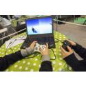 Spelhelg med VR-upplevelser, robotrally, livemusik och retronostalgi