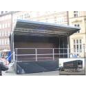 Lindesbergs nya portabla scen klar att tas i bruk