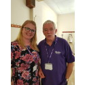 Hampshire stroke survivor finds his voice and helps others
