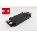 ROHM Expands Its Full SiC Power Module Lineup --- New 1200V/400A and 600A models contribute to greater efficiency and miniaturization in high-power applications