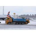 Full uppställning för att säkerställa flygtrafiken